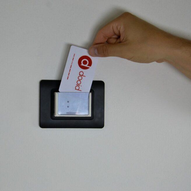 Tasca porta badge